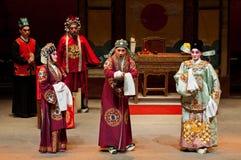 Funcionamientos de la ópera del Cantonese Imagen de archivo libre de regalías