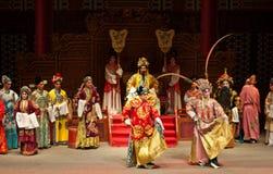 Funcionamientos de la ópera del Cantonese Foto de archivo libre de regalías
