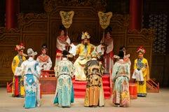 Funcionamientos de la ópera del Cantonese Foto de archivo