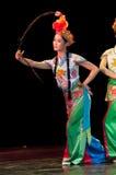 Funcionamientos de la danza de la ópera de China, Pekín Imagen de archivo