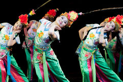 Funcionamientos de la danza de la ópera de China, Pekín Imagen de archivo libre de regalías