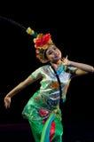 Funcionamientos de la danza de la ópera de China, Pekín Foto de archivo