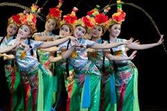 Funcionamientos de la danza de la ópera de China, Pekín Fotografía de archivo