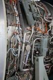 Funcionamientos internos de Jet Engine Imágenes de archivo libres de regalías