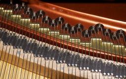 Funcionamientos internos del piano Foto de archivo libre de regalías