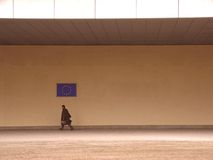 Funcionario 1 de la Comisión Europea Foto de archivo libre de regalías