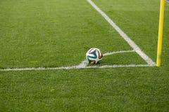 Funcionario la FIFA bola de 2014 mundiales Foto de archivo libre de regalías