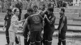Funcionario tailandés de Krabi débil imágenes de archivo libres de regalías
