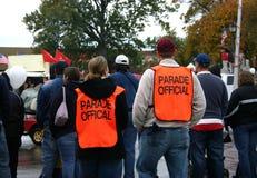 Funcionarios del desfile Foto de archivo