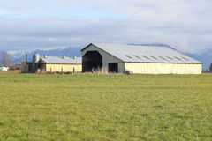 Functional Farm Buildings Stock Images