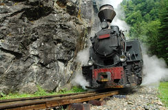 Functional steam locomotive Royalty Free Stock Photo