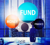 Fund Budget Business Finance Money Profit Wealth Concept Stock Photos