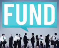 Fund Funding Donation Investment Budget Capital Concept Royalty Free Stock Photos