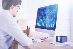 Fund management concept Royalty Free Stock Photos