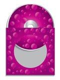 Funda cd rosada Imagen de archivo
