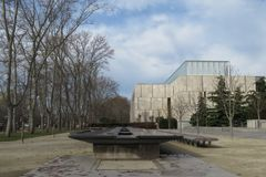 Fundación de Barnes, Philadelphia, Pennsylvania fotos de archivo