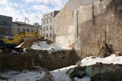 fundacyjny budynku miejsce obrazy royalty free