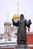 Fundador de uma igreja - monumento de St Alexius Fotos de Stock Royalty Free