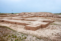 Fundament av tempel arkivfoto