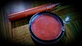 Fundament för ögonskugga för makeupögonskugga Arkivfoton