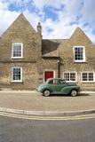 Fundamental englisches townscape Stockfoto