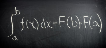 Fundamental theorem of Calculus Royalty Free Stock Image
