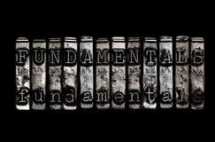 fundamentales Imagenes de archivo