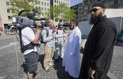 fundamentaliści muzułmańscy fotografia royalty free