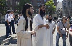 fundamentalistmuslim royaltyfria bilder