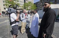 fundamentalistmuslim royaltyfri fotografi