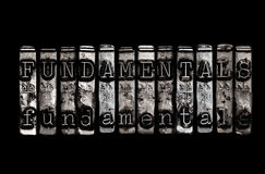 fundamentals Images stock
