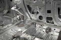 Fundamenteel binnenlands skelet van een auto stock foto