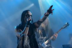 Fundamenteel in Hellfest 2016 stock foto