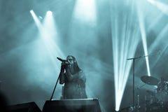 Fundamenteel in Hellfest 2016 stock afbeeldingen