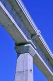 Fundamento da ponte fotografia de stock