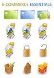 Fundamentos do comércio electrónico ilustração royalty free