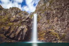 Fundao vattenfall - Serra da Canastra National Park - Minas Gerai Royaltyfri Foto