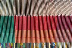 Fundas de papel para los Cdes o DVDs Imágenes de archivo libres de regalías