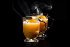 Funderad äppeljuice Royaltyfri Fotografi
