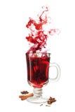 Funderad vinanstrykning Arkivfoto