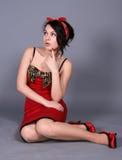 fundersam flickautvikningsbrud Arkivfoto