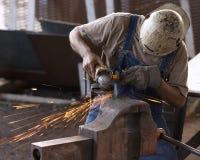 Fundição de aço Foto de Stock