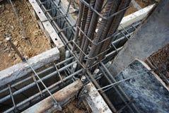 Fundição de aço para o reforço Foto de Stock