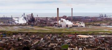 Fundições de aço de Talbot do porto Fotografia de Stock Royalty Free