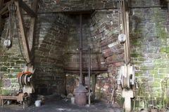 Fundições de aço do ferro fundido Imagens de Stock