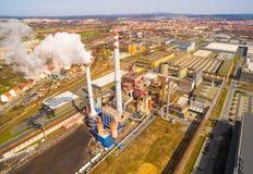 Fundições de aço do poder de Doosan Skoda Foto de Stock Royalty Free