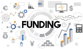Funding Cash Collection Economy Finance Fund Concept Stock Images