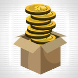 Funding concept design. Vector illustration eps10 graphic Royalty Free Stock Photo