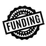 Funding rubber stamp Stock Photos