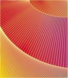Fundo à moda geométrico das linhas em vermelho, amarelo, roxo Fotos de Stock